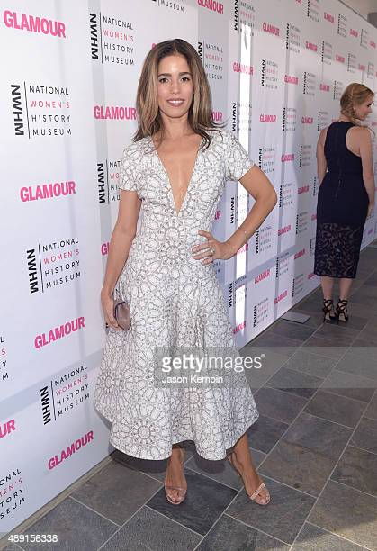 Actress Ana Ortiz attends the 4th Annual Women Making History Brunch presented by the National Women's History Museum and Glamour Magazine at...