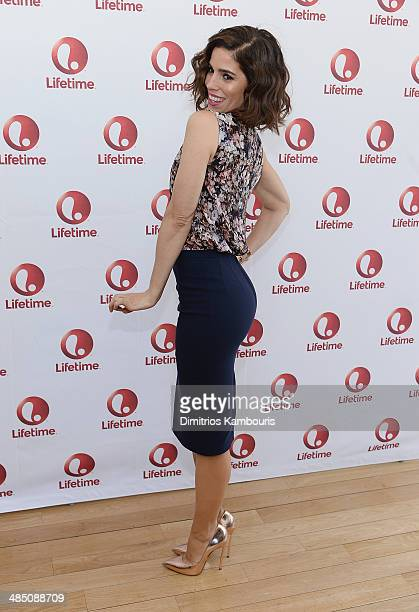 Actress Ana Ortiz attends the Devious Maids Fan Event at the Bryant Park Hotel on April 16 2014 in New York City