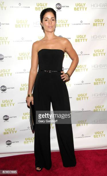Actress Ana Ortiz attends the Diamond Information Center's Hosting of the Ugly Betty Premiere Party at High Bar on September 15 2008 in New York City