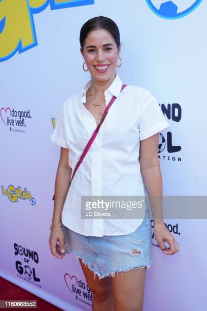 Actress Ana Ortiz attends the LaGolda special short film screening of Game Changer at Harmony Gold Theatre on October 12 2019 in Los Angeles...