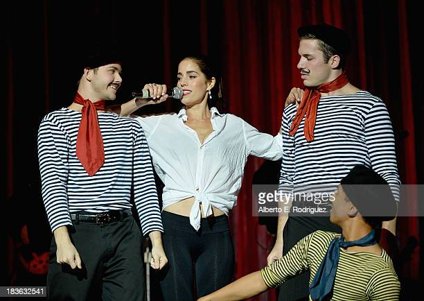 Actress Ana Ortiz attends The National Breast Cancer Coalition Fund presents The 13th Annual Les Girls at the Avalon on October 7 2013 in Hollywood...