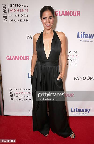 Actress Ana Ortiz attends the National Women's History Museum 5th Annual Women Making History Brunch presented by Glamour and Lifeway Foods at...