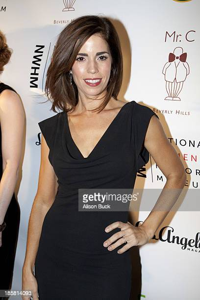 Actress Ana Ortiz attends the National Women's History Museum Presents 2nd Annual Women Making History at Mr C Beverly Hills on October 24 2013 in...