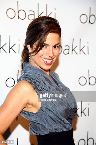 Actress Ana Ortiz attends the Obakki spring - summer 2010 collection presentation at The Soho Grand - Yard Bar on September 21, 2009 in New York City.