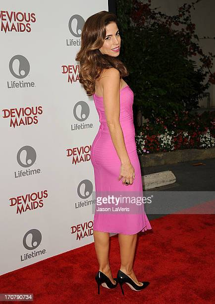 Actress Ana Ortiz attends the premiere of Devious Maids at BelAir Bay Club on June 17 2013 in Beverly Hills California
