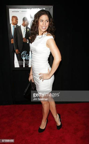 Actress Ana Ortiz attends the premiere of Our Family Wedding at AMC Loews Lincoln Square 13 theater on March 9 2010 in New York City