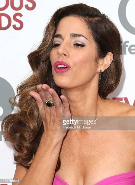 Actress Ana Ortiz attends the premiere party of Lifetime Original Series Devious Maids at the BelAir Bay Club on June 17 2013 in Pacific Palisades...