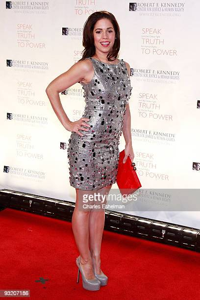 Actress Ana Ortiz attends the RFK Center Ripple of Hope Awards dinner at Pier Sixty at Chelsea Piers on November 18 2009 in New York City