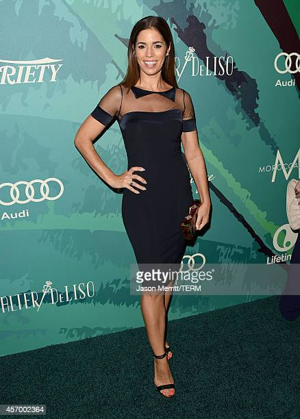 Actress Ana Ortiz attends Variety's 2014 Power of Women Event in LA presented by Lifetime at the Beverly Wilshire Four Seasons Hotel on October 10...