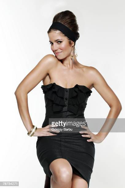 Actress Ana Ortiz poses at a portrait session in Los Angeles CA