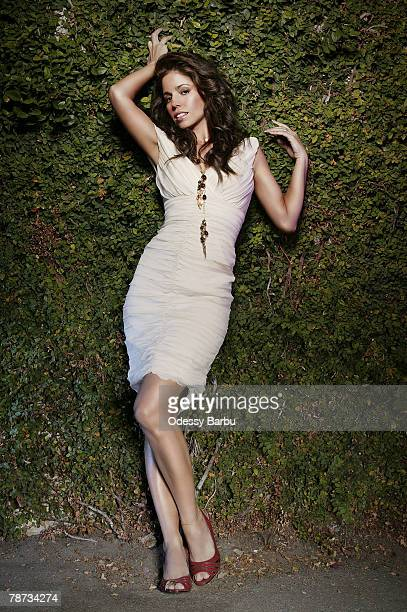 Actress Ana Ortiz poses at a portrait session in Los Angeles CA Published image