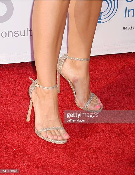Actress Ana Ortiz shoe detail at the 2016 Stand For Kids Annual Gala benefiting Orthopedic Institute for Children at Twentieth Century Fox Studio Lot...