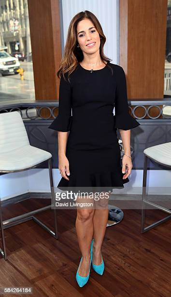 Actress Ana Ortiz visits Hollywood Today Live at W Hollywood on July 28 2016 in Hollywood California