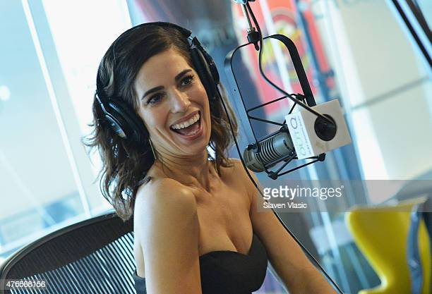 Actress Ana Ortiz visits Out Q/Flick at SiriusXM Studios on June 1 2015 in New York City