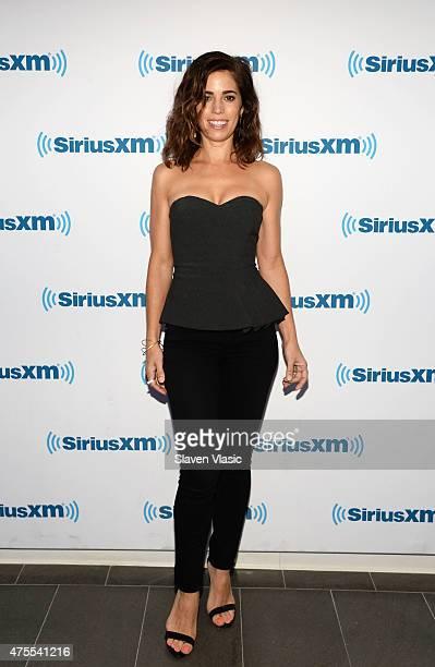 Actress Ana Ortiz visits SiriusXM Studios on June 1 2015 in New York City