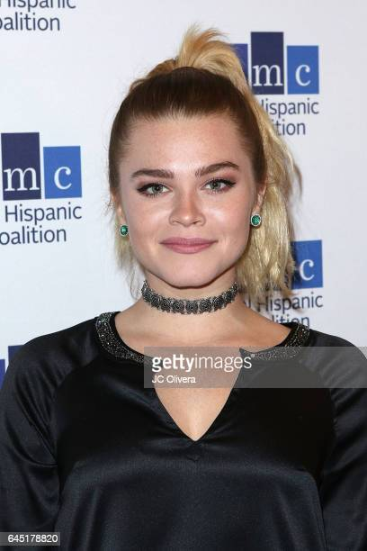 Actress Ana Osorio attends the 20th Annual National Hispanic Media Coalition Impact Awards Gala at Regent Beverly Wilshire Hotel on February 24 2017...