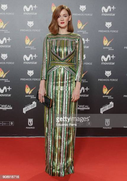 Actress Ana Polvorosa attends Feroz Awards 2018 at Magarinos Complex on January 22 2018 in Madrid Spain