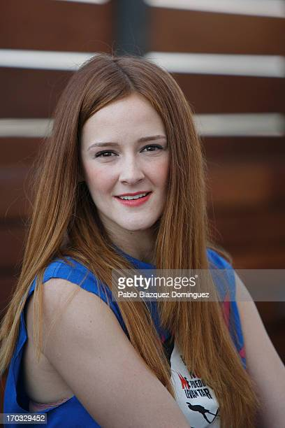 Actress Ana Polvorosa attends 'Hoy No Me Puedo Levantar' presentation at Torre Madrid on June 11 2013 in Madrid Spain