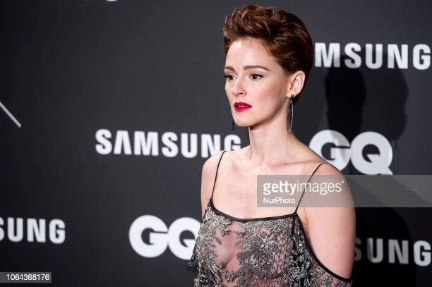 Actress Ana Polvorosa attends the 2018 GQ Men of the Year awards at the Palace Hotel in Madrid Spain November 22 2018