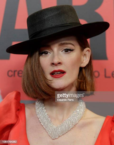 Actress Ana Polvorosa attends the 'Arde Madrid' premiere photocall at Callao cinema on November 07 2018 in Madrid Spain