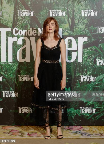 Actress Ana Polvorosa attends the 'Conde Nast Traveler awards' photocall at Ritz hotel on May 4 2017 in Madrid Spain