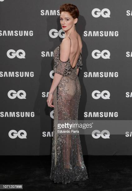 Actress Ana Polvorosa attends the 'GQ Men of the Year' awards photocall at Palace hotel on November 22 2018 in Madrid Spain