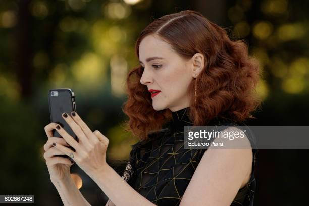 Actress Ana Polvorosa attends the 'Harper's Bazaar summer party' photocall at Casa de Velazquez on June 28 2017 in Madrid Spain