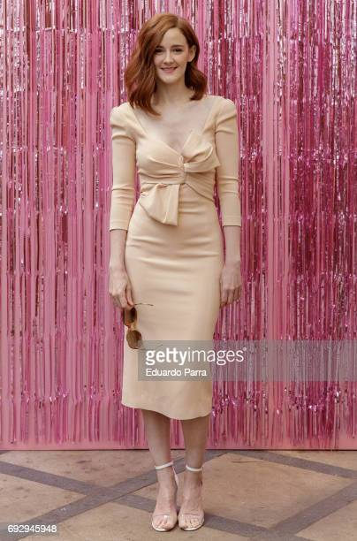 Actress Ana Polvorosa attends the 'Pieles' photocall at 'Only You' hotel on June 6 2017 in Madrid Spain