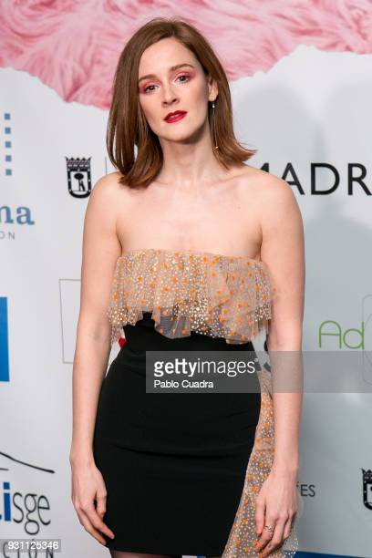 Actress Ana Polvorosa attends the 'Union de Actores' awards at Circo Price theater on March 12 2018 in Madrid Spain