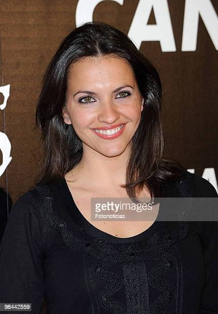 Actress Ana Ruiz attends 'Alicia en el Pais de las Maravillas' premiere at Proyecciones Cinema on April 13 2010 in Madrid Spain