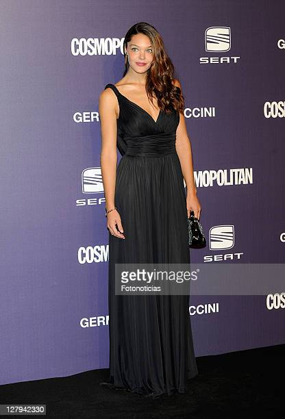 Actress Ana Rujas attends 'Cosmopolitan Fun Fearless Female' Awards 2011 at the Ritz Hotel on October 3 2011 in Madrid Spain