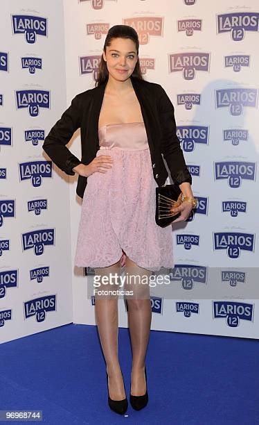 Actress Ana Rujas attends the 'Calendario Larios' presentation at San Bernardo 1 hall on February 22 2010 in Madrid Spain