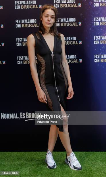 Actress Ana Rujas attends the 'Festivaleando con Brutal'' photocall at Harley Space on May 31 2018 in Madrid Spain