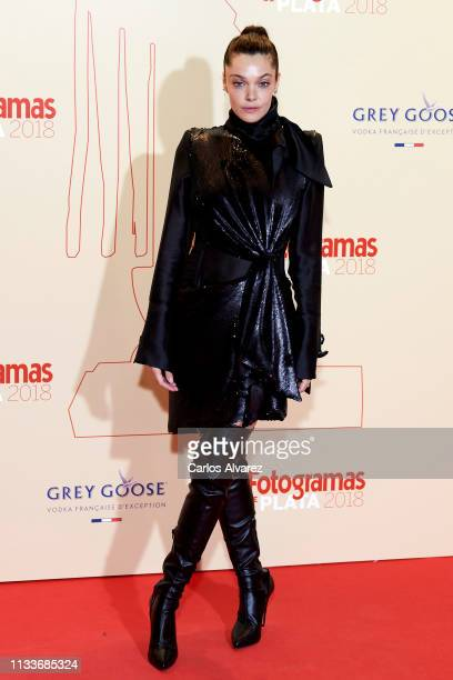 Actress Ana Rujas attends the Fotogramas Awards 2019 at Florida Park Club on March 04 2019 in Madrid Spain