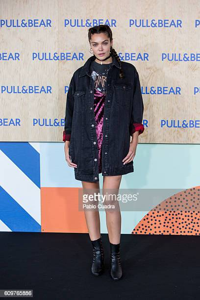 Actress Ana Rujas attends the opening of the new PullBear ecofriendly headquarters on September 22 2016 in Naron Spain