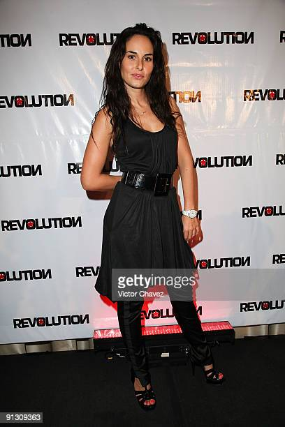 Actress Ana Serradilla attends the 'Revolution' Magazine launch party at The St Regis on September 30 2009 in Mexico City Mexico