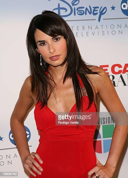 Actress Ana Serradilla poses during Univision's new soap opera 'Amas de Casa Desesperadas' launch party at Karu and Y January 8 2008 in Miami Florida