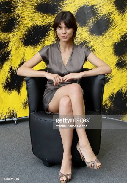 Actress Ana Ularu attends a photocall for 'Periferic' during the 63rd Locarno Film Festival on August 10 2010 in Locarno Switzerland