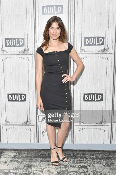 Actress Ana Ularu visits Build to discuss the film Siberia at Build Studio on July 11 2018 in New York City
