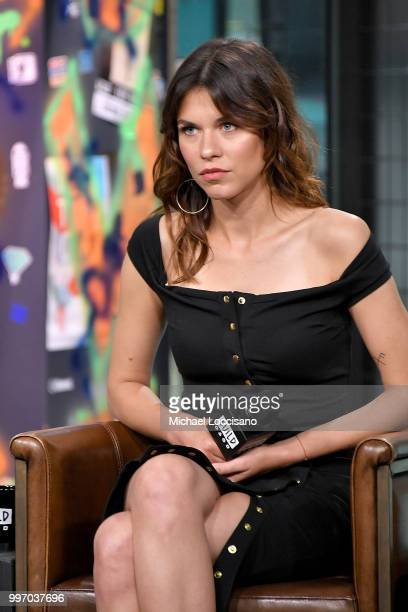 Actress Ana Ularu visits Build to discuss the film 'Siberia' at Build Studio on July 11 2018 in New York City