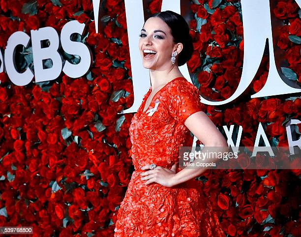Actress Ana Villafañe attends the 2016 Tony Awards at The Beacon Theatre on June 12 2016 in New York City