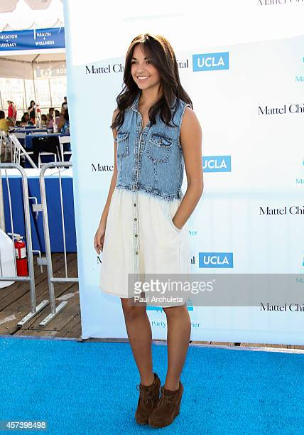 Actress Ana Villafane attends Mattel's 5th annual Party On The Pier at Santa Monica Pier on October 5 2014 in Santa Monica California