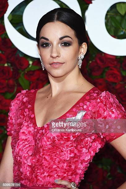 Actress Ana Villafane attends the 70th Annual Tony Awards at The Beacon Theatre on June 12 2016 in New York City Performers and presenters wore...