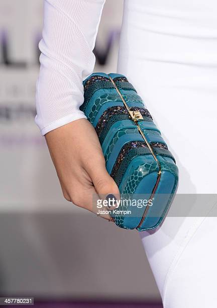 Actress Ana Villafane attends the premiere of Open Road Films' 'Justin Bieber's Believe' at Regal Cinemas LA Live on December 18 2013 in Los Angeles...