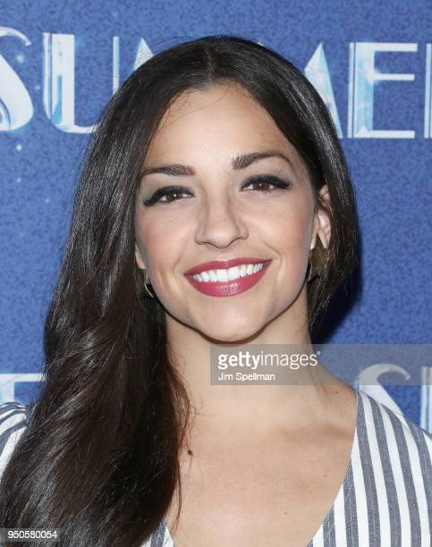 Actress Ana Villafane attends the 'Summer The Donna Summer Musical' Broadway opening night at LuntFontanne Theatre on April 23 2018 in New York City