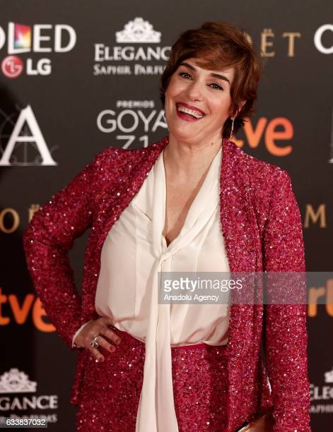 Actress Anabel Alonso attends the 31th edition of the Goya Awards ceremony in Madrid Spain on February 42017