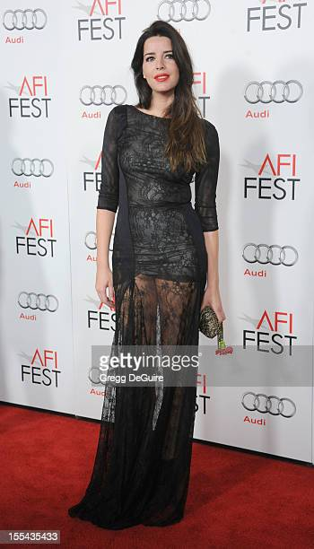 Actress Anabela Moreira arrives at the special screening of 'Holy Motors' during the 2012 AFI FEST at Grauman's Chinese Theatre on November 3 2012 in...