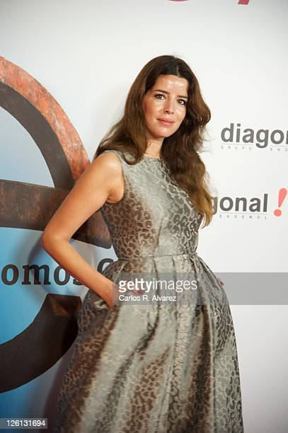 Actress Anabela Moreira attends 'Otra Mirada' award at Victoria Eugenia theater during 59th San Sebastian Film Festival on September 22 2011 in San...