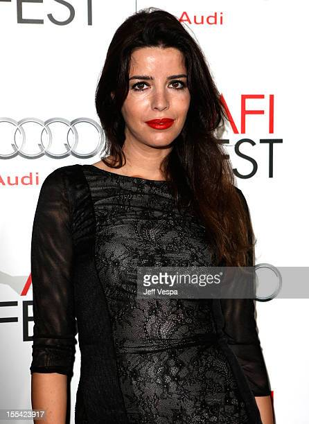 Actress Anabella Moreira arrives at the 'Holy Motors' special screening during the 2012 AFI Fest at Grauman's Chinese Theatre on November 3 2012 in...