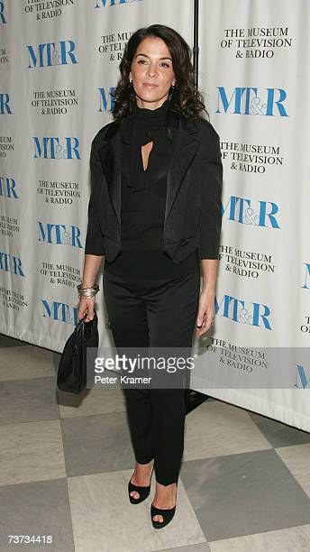 Actress Anabella Sciorra attends the Museum of Television Radio presentation of 'The Whacked Sopranos' on March28 2007 in New York City